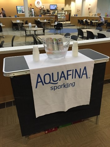 Aquafina Corporate Sampling Event