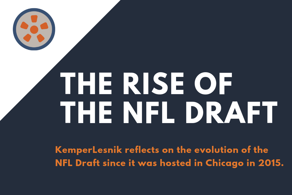 The rise of the NFL Draft as the next NFL brand juggernaut
