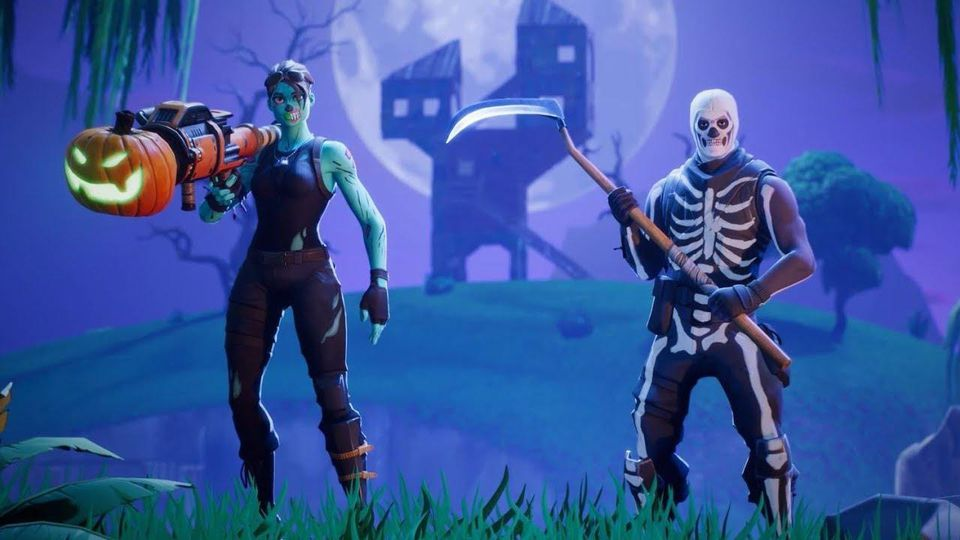 Fortnite Halloween Skins.