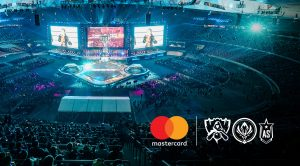 League of Legends international events sponsored by MasterCard.