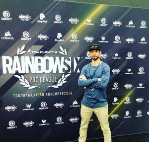 Mark Flood at Tokoname Japan November 2019 Rainbow Six Tournament