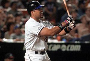 Mike Piazza Hitting Home Run