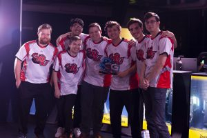 Team of Chicago esports players