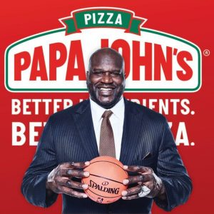 Shaquille O'Neal joins Papa John's Board of Directors