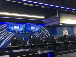 Northwood University esports college student athletes competing in Overwatch.